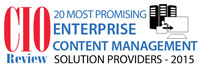 Top 20 Enterprise Content Management Solution Companies - 2015