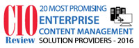 Top 20 Enterprise Content Management Solution Companies - 2016
