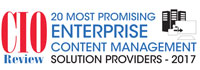 Top 20 Enterprise Content Management Solution Providers - 2017